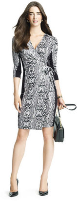 Anne Klein Prented Wrap Dress