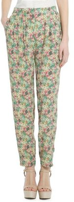 MANGO Outlet Printed Trousers