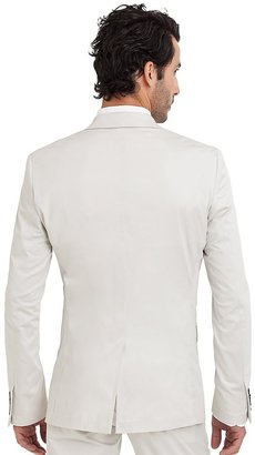 GUESS by Marciano Stone White Suit Jacket – Slim Fit