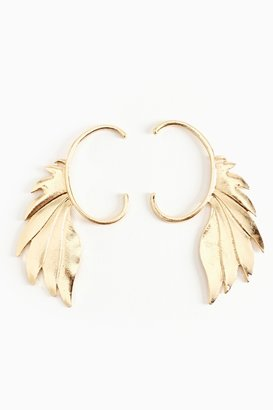 Nasty Gal Winged Ear Cuff