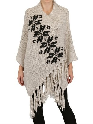 Appartamento 50 Hand Embroidered Knitted Poncho