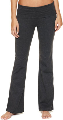 JCPenney Eye Candy Solid Yoga Pants
