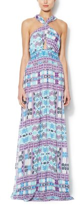6 Shore Road Drummer's Embroidered Maxi Dress
