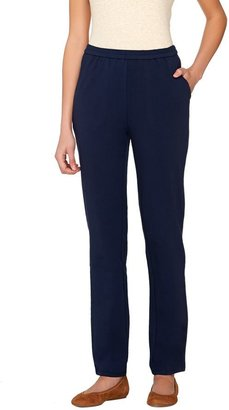 Linea By Louis Dell'olio Leisure by Louis Dell'Olio Regular Knit Pull-On Pants