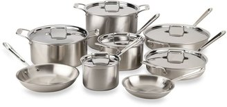 All-Clad d5 Brushed Stainless Steel Cookware 14-Piece Set and Open Stock