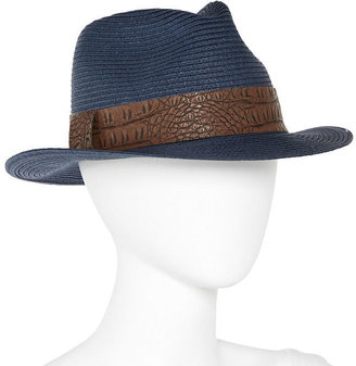 JCPenney August Hat Co. Inc. Straw Fedora