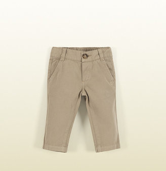 Gucci Beige Stone Washed Cotton Pant
