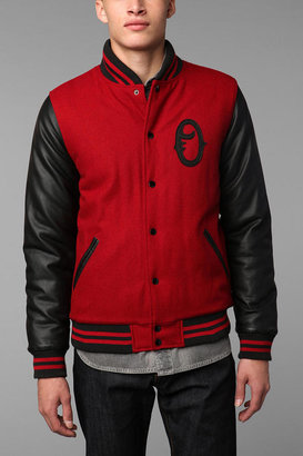 UO OBEY Exclusive Varsity Jacket