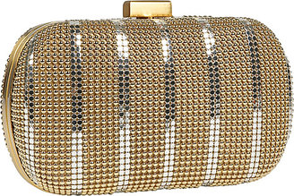 Whiting & Davis Whiting and Davis Bubble & Flat Mesh Box Clutch