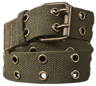 Mossimo Web Grommet Belt - Green