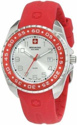 Swiss Military Calibre Women's 06-6S1-04-004 Sealander Rotating Bezel Rubber Watch