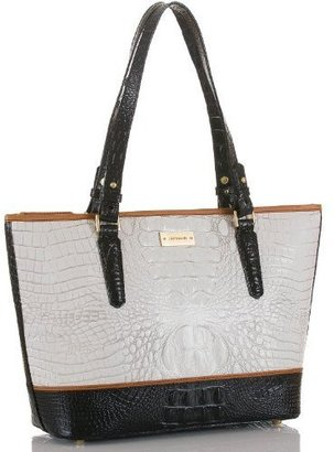 Brahmin Medium Asher Tote Tri-Texture Sugar