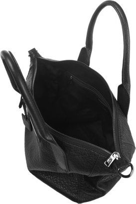 McQ by Alexander McQueen Stepney textured-leather tote