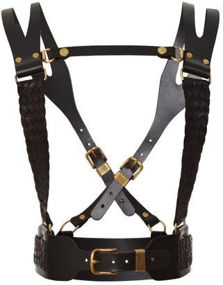 Prabal Gurung Regiment Leather Harness