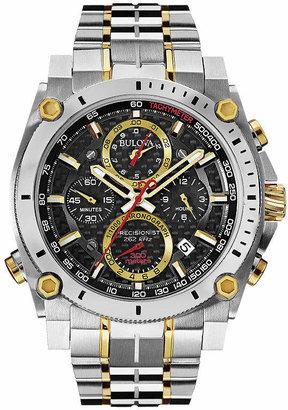 Bulova Mens Two Tone Bracelet Watch-98b228