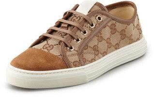 Gucci California Low Canvas Sneaker