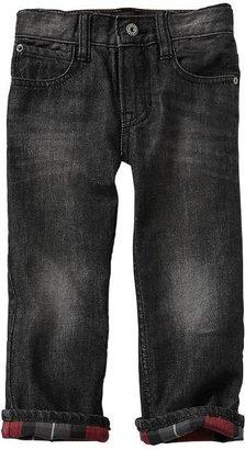 Gap Flannel-lined original fit jeans
