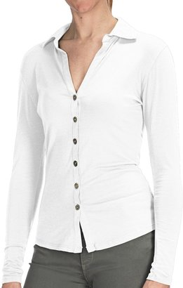 Agave Denim Agave Nectar Inez Shirt - Stretch Supima® Cotton-TENCEL® Jersey, Long Sleeve (For Women)