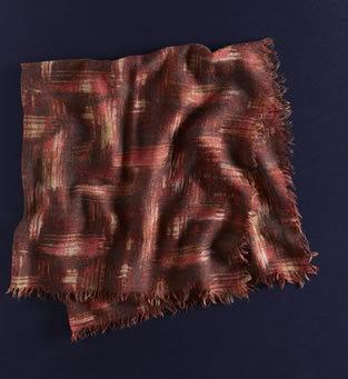Martin + Osa Multi-Tone Square Wool Scarf