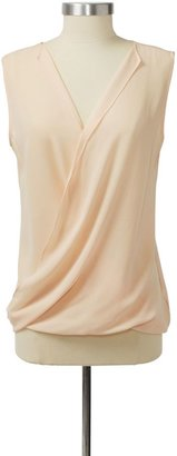 Theory Parlier Top in Stay Stretch Cotton
