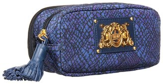 Juicy Couture Weekend Warriors Large Nylon Cosmetic Case (Regal Snake) - Bags and Luggage