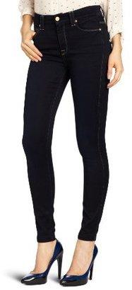 7 For All Mankind Women's Highwaist Skinny Jean in Knit-like Illustrious Blue