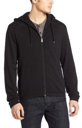 HUGO BOSS Men's Hooded Cotton Zip Sweatshirt
