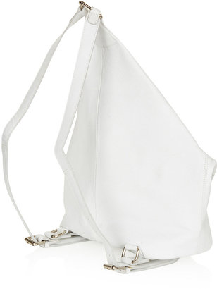 Topshop Clean Clip Backpack