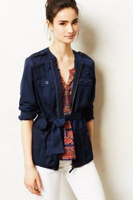 Anthropologie Hei Hei Belted Anorak