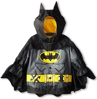 Western Chief Batman Caped Crusader Raincoat (Toddler/Little Kids) (Black FA14) Boy's Coat