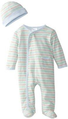 SpaSilk 2 Piece Sleepwear With Hat - Boy Stripe Print