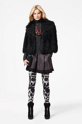 Diane von Furstenberg Indina Jacket in Black