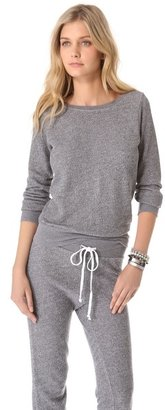 So Low Solow Back Twist Pullover