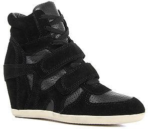 Bea Yuk Mui Ash Shoes The Sneaker in Black Suede Nappa