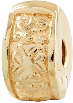 Bea Yuk Mui Prerogatives Gold-Plated Sterling Hinged FloralDesignClip