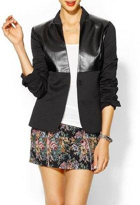 Juicy Couture Rhyme Los Angeles Vegan Leather Blazer