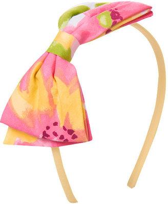 Gymboree Floral Bow Headband