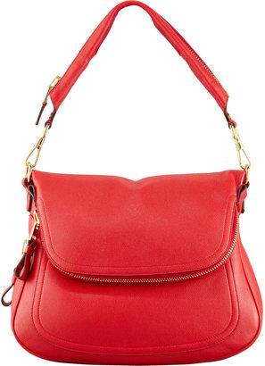 Tom Ford Jennifer Large Leather Shoulder Bag
