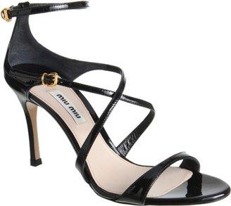Miu Miu Criss-Cross Sandal Sale up to 60% off at Barneyswarehouse.com