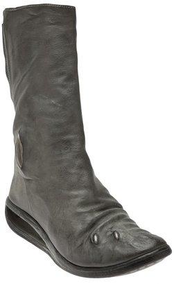 Carol Christian Poell Diagonal zip boot
