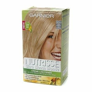 Garnier Nutrisse Haircolor Creme Lightener, Ultra Bleach Blonde Do-1