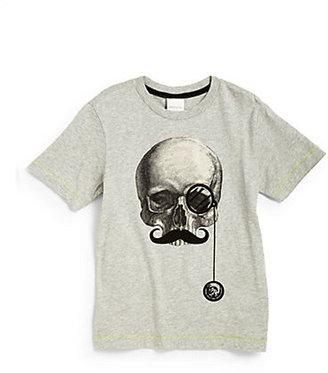 Diesel Toddler's & Little Boy's Skull Tee