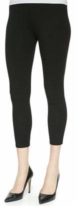 Joan Vass Plus Size Jersey Capri Leggings