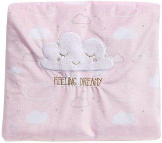 Just Born Pink Plush Blanket