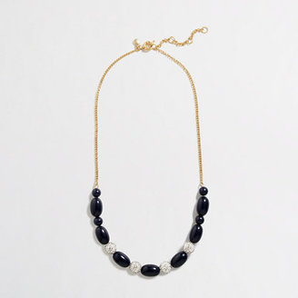 J.Crew Factory Factory bead and crystal necklace