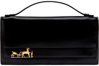Hermes Vintage branded clutch bag