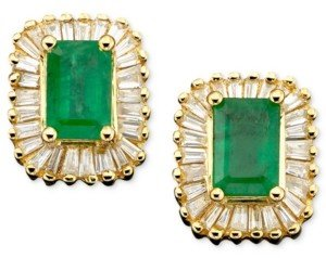 Effy Brasilica by Emerald (1 ct. t.w.) and Diamond (5/8 ct. t.w.) in 14k Gold