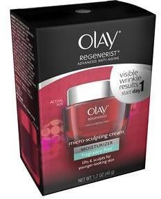 Olay Regenerist Micro-Sculpting Face Cream Moisturizer, Fragrance-Free