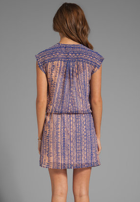 LAmade Tribal Printed Drop Waist Dress