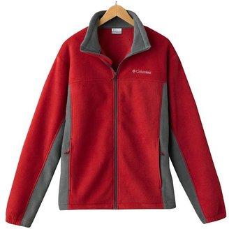 Columbia company vertical drop colorblock fleece jacket - men